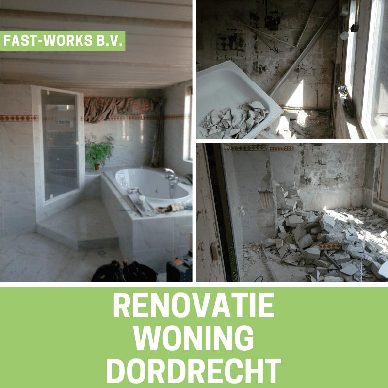 Renovatie woning Dordrecht